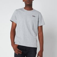 Tommy Jeans Men's Regular Corporate Logo T-Shirt - Light Grey Heather - S