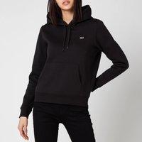 Tommy Jeans Women's Regular Fleece Hoodie - Black - XS