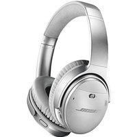 Bose QuietComfort 35 (Series II) Wireless Headphones, Noise Cancelling with Alexa Built-In - Silver