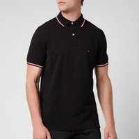 Tommy Hilfiger Men's Core Tommy Tipped Polo Shirt - Black - M