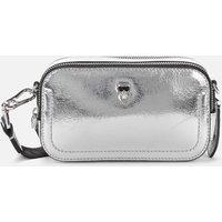KARL LAGERFELD Womens K/Ikonik 3D Pin Camera Bag - Silver
