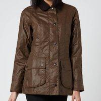 Barbour Womens Beadnell Wax Jacket - Bark - UK 8