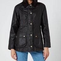 Barbour Womens Beadnell Wax Jacket - Rustic - UK 10