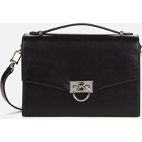 MICHAEL Michael Kors Womens Hendrix Medium Messenger Bag - Black
