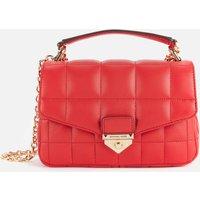 MICHAEL Michael Kors Womens Soho Small Chain Shoulder Bag - Bright Red