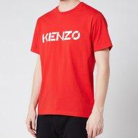 KENZO Men's Logo Classic T-Shirt - Medium Red - S