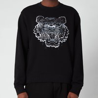 KENZO Men's Gradient Tiger Classic Sweatshirt - Black - XS