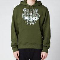KENZO Men's Tiger Classic Hooded Sweatshirt - Dark Khaki - XXL