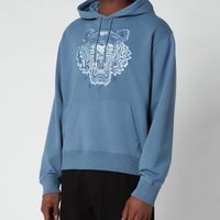 KENZO Men's Gradient Tiger Classic Hooded Sweatshirt - Blue - M
