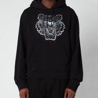 KENZO Men's Gradient Tiger Classic Hooded Sweatshirt - Black - M