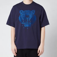 KENZO Men's Light Tiger Oversized T-Shirt - Navy Blue - XL