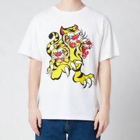 KENZO Men's Seasonal Logo Loose T-Shirt - White - L