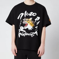 KENZO Men's Seasonal Logo Boxy T-Shirt - Black - L