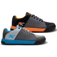 Ride Concepts Youth Livewire Flat MTB Shoes - UK 3/EU 36 - Charcoal/Orange