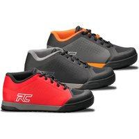 Ride Concepts Powerline Flat MTB Shoes - UK 9.5/EU 43.5 - Red/Black