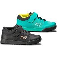 Ride Concepts Women's Traverse SPD MTB Shoes - UK 7/EU 39 - Teal/Lime