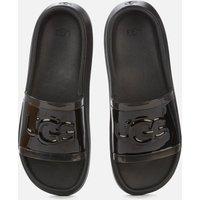 UGG Women's Hilama Slide Sandals - Black - UK 4