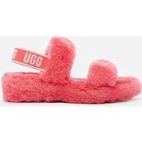 UGG Women's Oh Yeah Sheepskin Slippers - Strawberry - UK 5