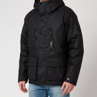 Barbour International Mens Afton Wax Jacket - Black - L