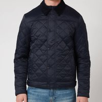 Barbour Tartan Mens Lemal Quilted Jacket - Navy - M