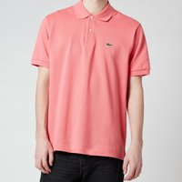 Lacoste Mens Classic Fit Polo Shirt - Amaryllis - 4/M