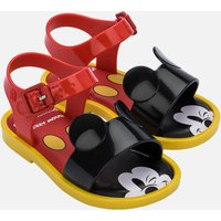 Mini Melissa Toddlers' Mini Disney Sandals - Red Mickey - UK 5 Toddler