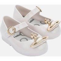 Mini Melissa Toddlers' Mini VW Sweet Love Ballet Flats - White Orb - UK 4 Toddler