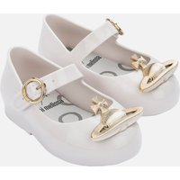 Mini Melissa Toddlers' Mini VW Sweet Love Ballet Flats - White Orb - UK 4 Toddler
