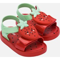 Mini Melissa Toddlers' Mini Jump Fruitland Sandals - Strawberry - UK 4 Toddler