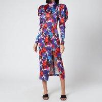 ROTATE Birger Christensen Women's Theresa Dress - Paint - DK 38/UK 12