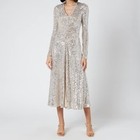 ROTATE Birger Christensen Women's Sierra Dress - Silver - DK 36/UK 10