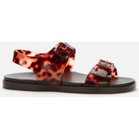 Melissa Women's Wide Double Strap Sandals - Tortoiseshell - UK 3
