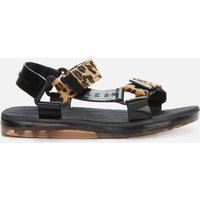 Melissa X Rider Women's Papete Sandals - Leopard - UK 6