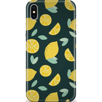 Lemons Phone Case for iPhone and Android - iPhone XS - Snap Case - Matte