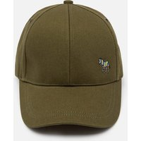 PS Paul Smith Men's Zebra Logo Baseball Cap - Khaki
