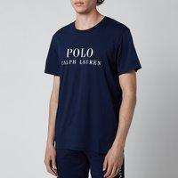 Polo Ralph Lauren Men's Liquid Cotton Branded Crewneck T-Shirt - Cruise Navy - M