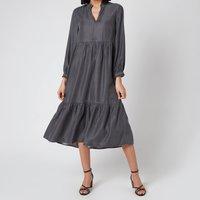 Whistles Women's Denim Trapeze Dress - Black - UK 8