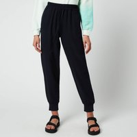 Whistles Women's Cuffed Crepe Jogger - Navy - UK 8