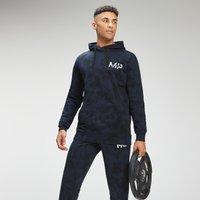 MP Men's Adapt Tie Dye Hoodie | Petrol Blue/Black | MP - XXS