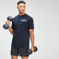 MP Men's Adapt Tie Dye Short Sleeve Oversized T-Shirt - Petrol Blue/Black  - S