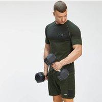 MP Men's Essential Seamless Short Sleeve T-Shirt - Vine Leaf Marl - L