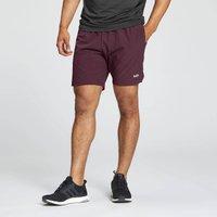 MP Men's Essentials 2 in 1 Training Shorts - Port - XS
