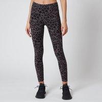 Varley Womens Century 25 Inch 2.0 Leggings - Iron Grey Cheetah - M