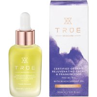 TRUE Skincare Certified Organic Rejuvenating Cacay and Frankincense Facial Oil 30ml