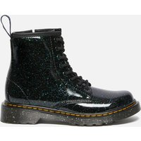 Dr. Martens Kids' 1460 Junior Patent Lamper Lace Up Boots - Green Cosmic Glitter - UK 11 Kids