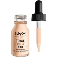 NYX Professional Makeup Total Control Pro Drop Controllable Coverage Foundation 13ml (Various Shades