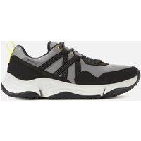 Clarks Men's Tripath Trek Goretex Hiking Style Trainers - Grey Combi - UK 8