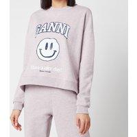 Ganni Women's Isoli Sweatshirt - Pale Lilac - XXS/XS