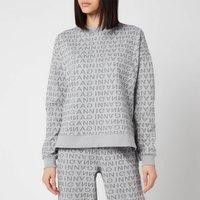 Ganni Women's Jacquard Isoli Sweatshirt - Grey - XXS/XS