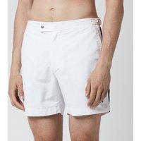 Polo Ralph Lauren Men's Monaco Swim Shorts - White/Newport Navy - W36